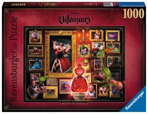 Disney - Villainous Queen of Hearts - Puzzle 1000