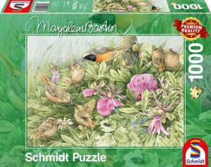 Marjolein Bastin - Feast in the Meadow - Puzzle 1000