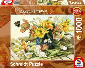 Marjolein Bastin - Spring Blossoms - Puzzle 1000