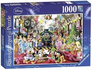 Disney - All aboard for Christmas - Puzzle 1000