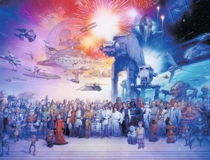 Star Wars - Universe - Puzzle 2000