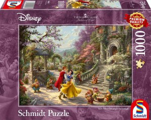 Thomas Kinkade - Snow White Dancing in the Sunlight - Puzzle 1000
