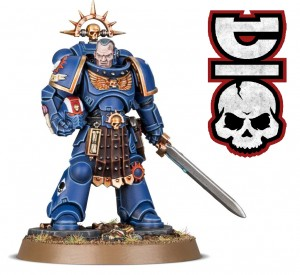 Space Marines - Lieutenant Amulius - LIMITED - WH 40K