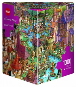 Francois Ruyer - Bunnytown - Puzzle 1000