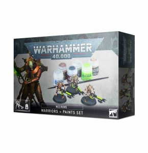 Necron Warriors + Paint Set - WH 40K