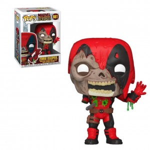 Funko POP Marvel Zombies - Zombie Deadpool # 661