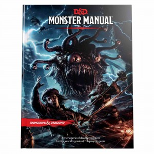 Dungeons & Dragons - Monster Manual (5 ed)