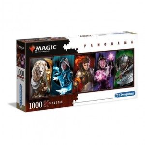 Magic the Gathering - Planeswalkers Panorama - Puzzle 1000