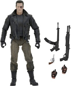 Terminator - T-800 Police Station Assault (Motorcycle Jacket) Ultimate Action Figure