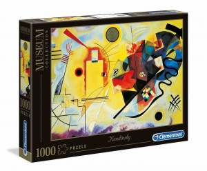 Museum Collection - Kandinsky - Yellow - Red - Blue - Puzzle 1000