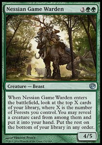 Nessian Game Warden (Journey Into Nyx)