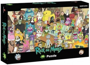 Rick and Morty - Puzzle 1000