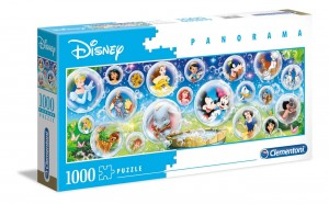 Disney - Classic Bubbles Panorama - Puzzle 1000