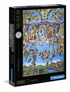 Museum Collection - Michelangelo - Universal Judgement - Puzzle 1000