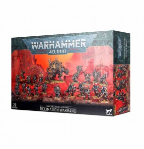 Chaos Space Marines - Battleforce - Decimation Warband - WH 40K
