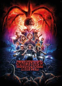 Stranger Things - Puzzle 1000