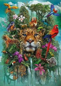 King of the Jungle - Puzzle 1000