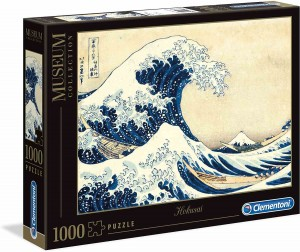 Museum Collection - Hokusai - The Great Wave - Puzzle 1000