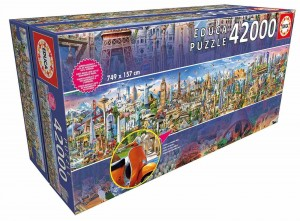 World Tour - Puzzle 42000