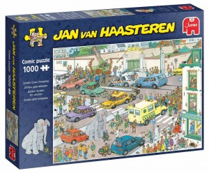Jan Van Haasteren - Jumbo Goes Shopping - Puzzle 1000 - PRE ORDER