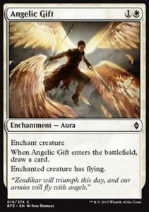 Angelic Gift (Battle for Zendikar)
