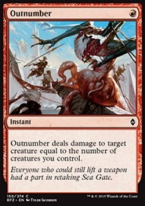 Outnumber (Battle for Zendikar)