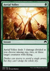 Aerial Volley (Magic Origins)