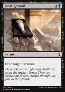 Final Reward (Amonkhet)