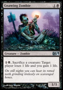 Gnawing Zombie (M14)
