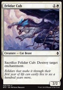 Felidar Cub (Battle for Zendikar)