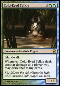 Cold-Eyed Selkie (Modern Masters)