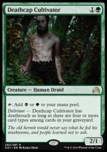 Deathcap Cultivator (Shadows over Innistrad)