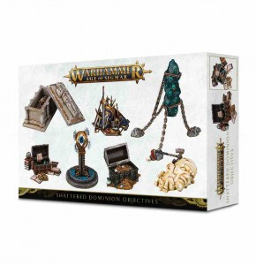 Shattered Dominion Objectives - AoS