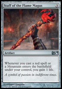 Staff of the Flame Magus (M14)