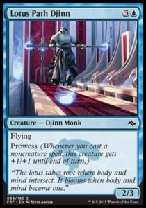 Lotus Path Djinn (Fate Reforged)