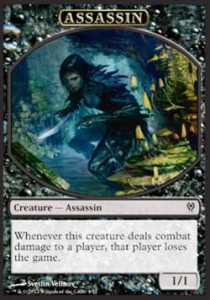 Assassin Token (DD Jace vs Vraska T1/1)