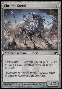 Chrome Steed (Scars of Mirrodin)