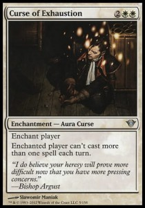 Curse of Exhaustion (Dark Ascension)