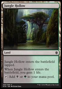 Jungle Hollow (Khans of Tarkir)