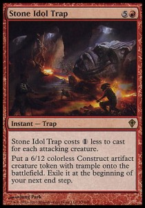 Stone Idol Trap (Worldwake)