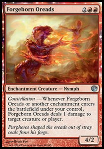 Forgeborn Oreads (Journey Into Nyx)