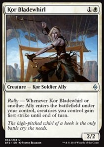 Kor Bladewhirl (Battle for Zendikar)