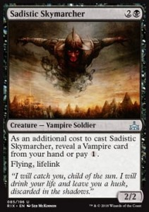 Sadistic Skymarcher (Rivals of Ixalan)