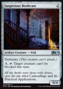Suspicious Bookcase (M19 Core Set)