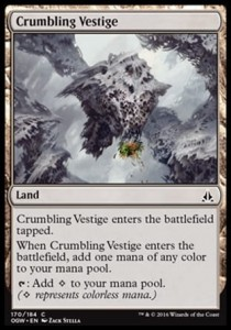 Crumbling Vestige (Oath of the Gatewatch)