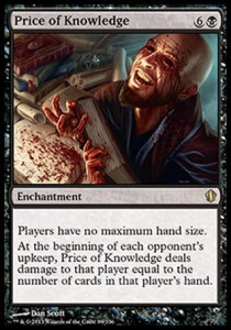 Price of Knowledge (Commander 2013)