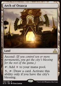 Arch of Orazca (Rivals of Ixalan)