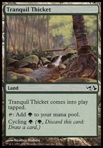 Tranquil Thicket (DD: Elves vs Goblins)