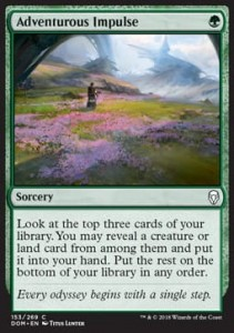 Adventurous Impulse (Dominaria)