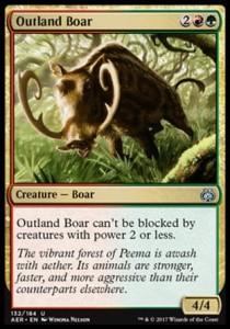 Outland Boar (Aether Revolt)
